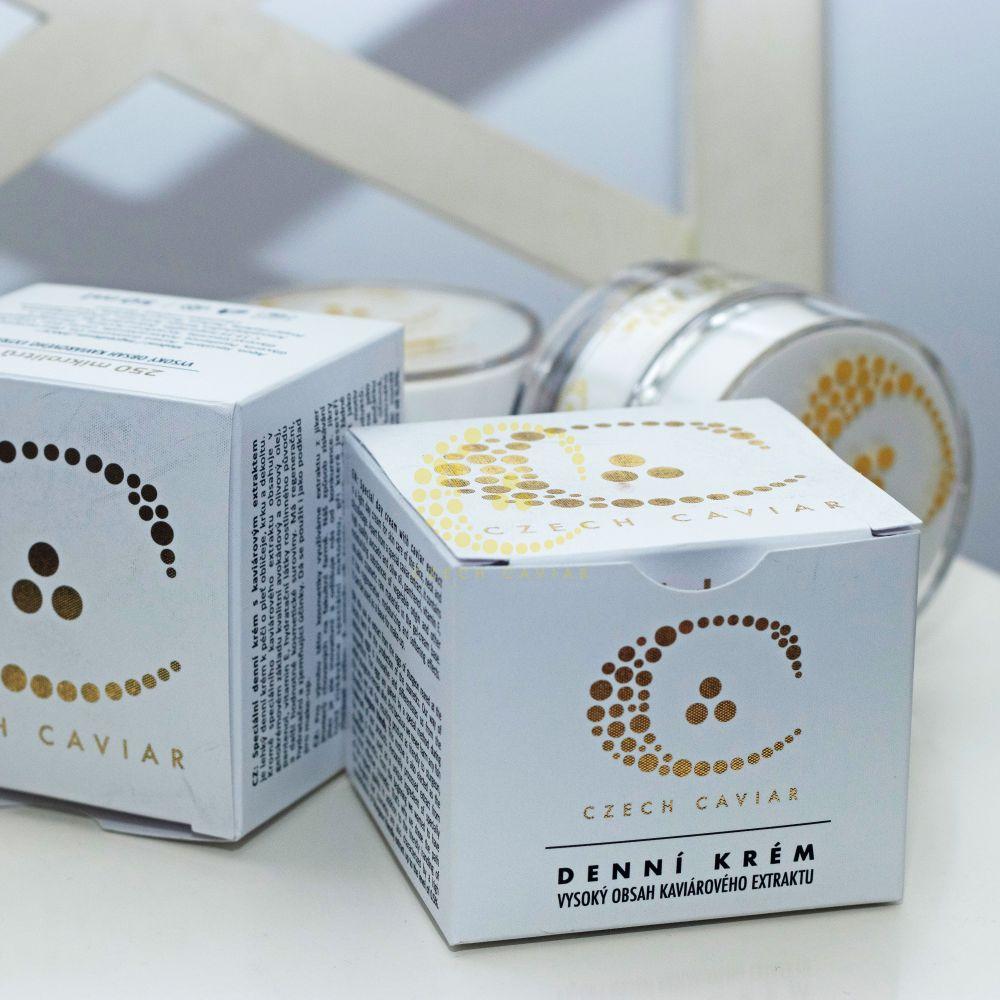 Speciální denní krém + Kaviárová chytrá nano maska